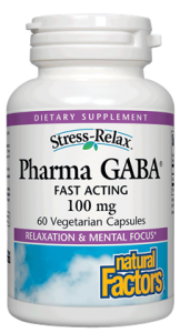 Image of Stress Relax Pharma GABA 100 mg Capsule