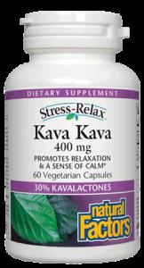 Image of Stress Relax Kava Kava 400 mg