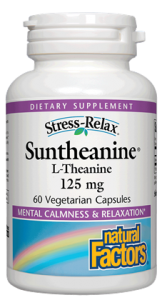 Image of Stress Relax Suntheanine L-Theanine 125 mg Capsule