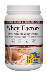Image of Whey Factors Whey Protein Powder Double Chocolate