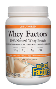 Image of Whey Factors Whey Protein Powder Unflavored