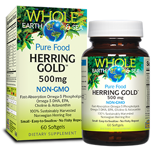 Image of Herring Gold Omega-3 500 mg (non-GMO)