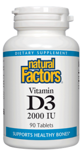 Image of Vitamin D3 2000 IU Tablet