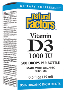 Image of Vitamin D3 1000 IU Drops