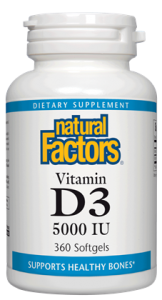 Image of Vitamin D3 5000 IU Softgel