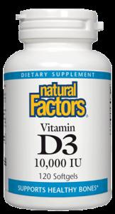 Image of Vitamin D3 10,000 IU Softgel
