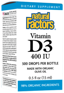 Image of Vitamin D3 400 IU Drops