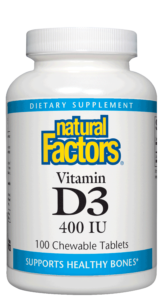 Image of Vitamin D3 400 IU Chewable