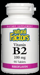 Image of Vitamin B2 100 mg (Riboflavin)