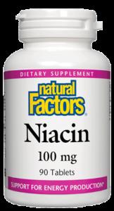 Image of Niacin 100 mg (vitamin B3)