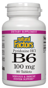 Image of Vitamin B6 100 mg (Pyridoxine HCL)