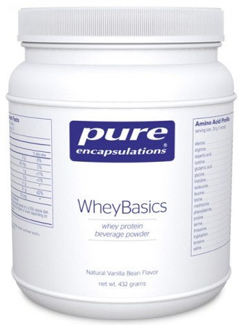 Image of WheyBasics Whey Protein Powder Vanilla
