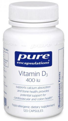 Image of Vitamin D3 400 IU