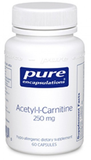 Image of Acetyl-l-Carnitine 250 mg