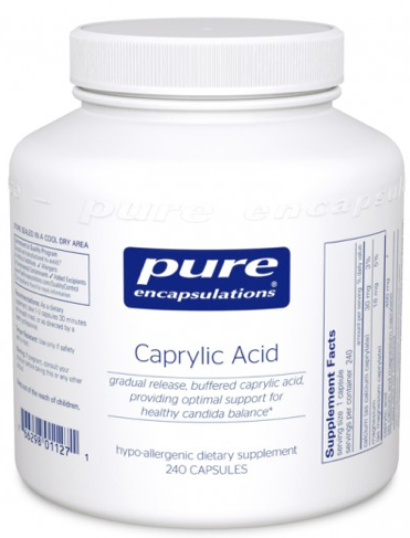 Image of Caprylic Acid 400 mg
