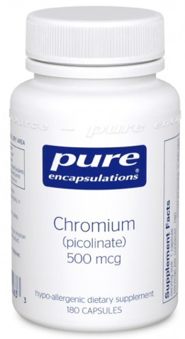 Image of Chromium (Picolinate) 500 mcg