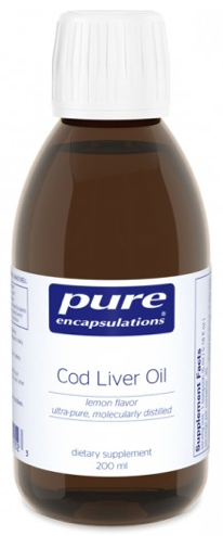 Image of Cod LIver Oil Liquid Lemon
