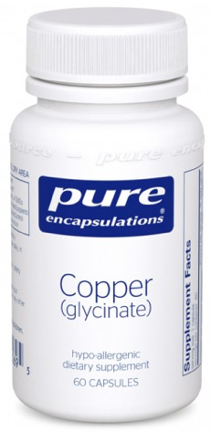 Image of Copper (Glycinate) 2 mg