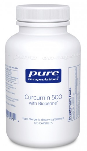 Image of Curcumin 500 with Bioperine