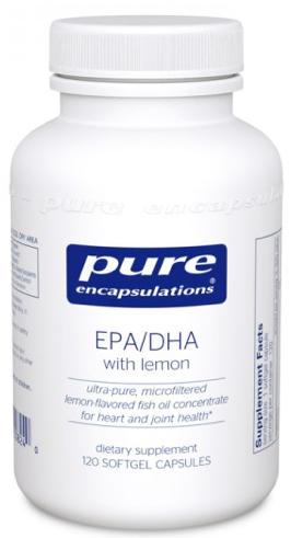Image of EPA/DHA with Lemon