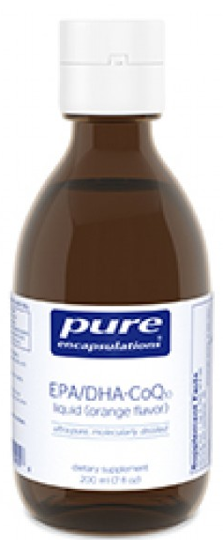 Image of EPA/DHA CoQ10 Liquid Orange