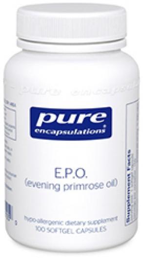 Image of E.P.O. (evening primrose oil) 500 mg