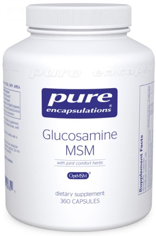 Image of Glucosamine MSM with Herbs 250/250 mg