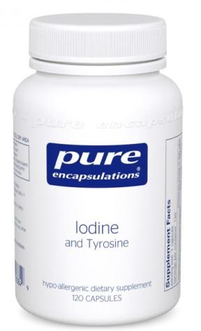 Image of Iodine & Tyrosine 225 mcg/500 mg