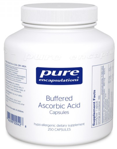 Image of Buffered Ascorbic Acid Capsules 480 mg