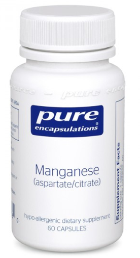 Image of Manganese (aspartate/citrate) 8 mg
