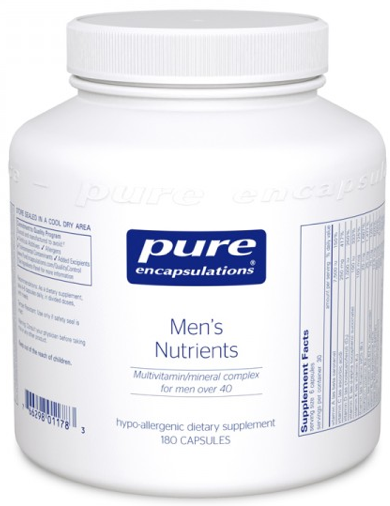 Image of Men's Nutrients Multivitamin/Mineral Complex for Men over 40