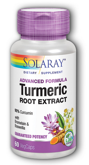 Image of Advanced Formula Turmeric Root Extract  (with Bromelain & Boswellia)