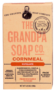 Image of Face & Body Bar Soap Cornmeal (Exfoliate)
