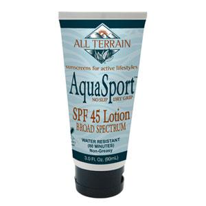 Image of AquaSport SPF 45 Sunscreen Lotion