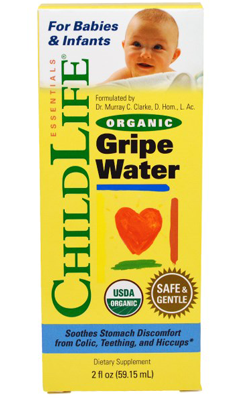 Image of Organic Gripe Water for Babies & Infants