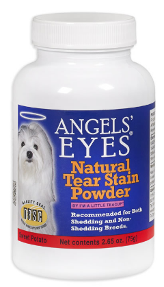 Image of Natural Tear Stain Powder for Dogs Sweet Potato Flavor