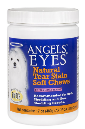 Image of Natural Tear Stain Soft Chews for Dogs Chicken Flavor