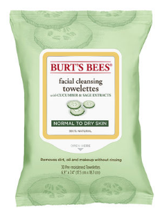 Image of Facial Cleansing Towelettes Cucumber & Sage (normal to dry skin)