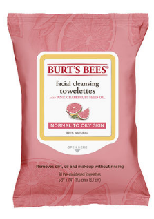 Image of Facial Cleansing Towelettes Pink Grapefruit (normal to oily skin)