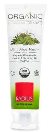 Image of Toothpaste Mint Aloe Neem Organic