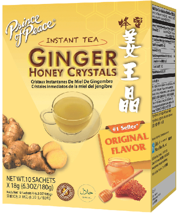 Image of Ginger Honey Crystals Packet (Instant Tea)
