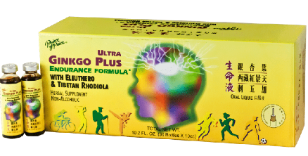 Image of Ultra Gingko Plus Endurance Formula Liquid