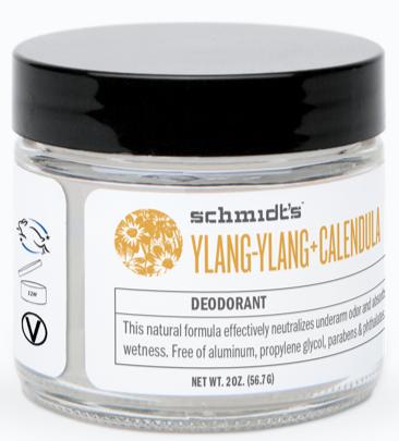 Image of Deodorant Jar/Cream Ylang Ylang Calendula