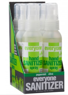 Image of Everyone Hand Sanitizer Spray Peppermint & Citrus