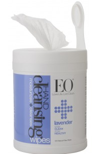 Image of Hand Sanitizer Hand Cleansing Wipes Lavender