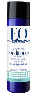 Image of Conditioner Sulfate Free Keratin Coconut & Hibiscus (chemically treated hair)