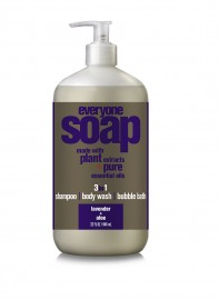 Image of Everyone 3-In-1  Soap Liquid Lavender & Aloe