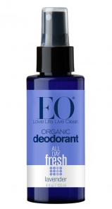 Image of Deodorant Spray Organic Lavender