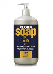 Image of Everyone for Men 3-in-1 Soap Liquid Cedar & Citrus