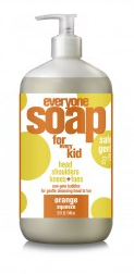 Image of Everyone for Kids 3-in-1 Soap Liquid Orange Squeeze